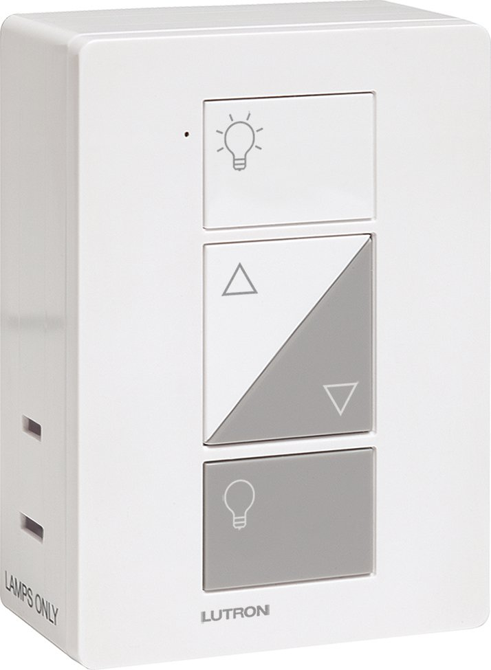 caseta wireless gloss white plug in lamp dimmer with pico remote control kit discount dimmers. Black Bedroom Furniture Sets. Home Design Ideas